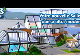 Une salle de danse dans les Sims 3