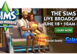 Le live Sims a suivre sur Simsvillage !
