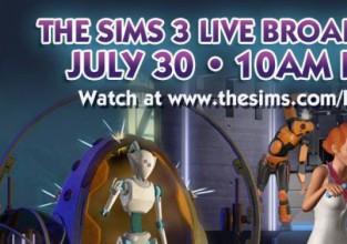 Résume du Live broadcast des Sims 3 en route vers me futur !
