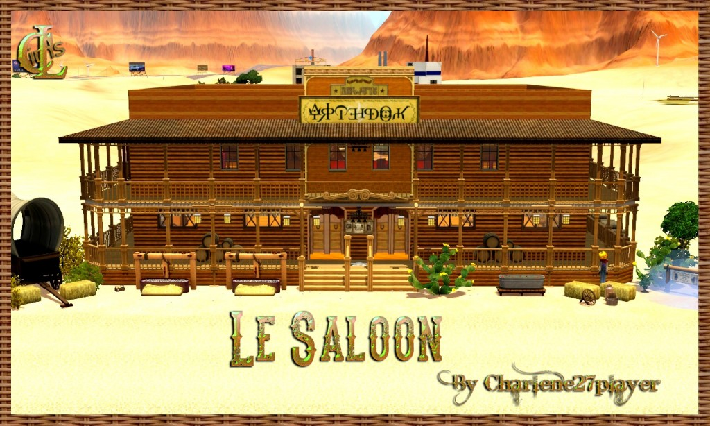 Le Saloon Sims 3 By Charlene27player (1)