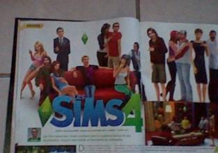 Jeux video magazine un dossier spéciale Sims 4 !