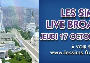 Live Broadcast Les Sims 3 en route vers le futur