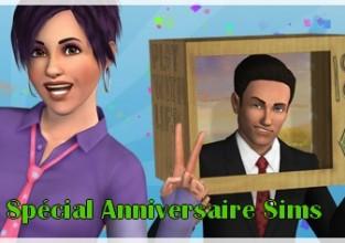 Spécial Anniversaire Sims