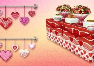 Le set pour la saint valentin dispo !