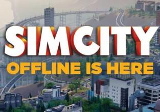 Simcity: le Mode hors ligne est disponible !