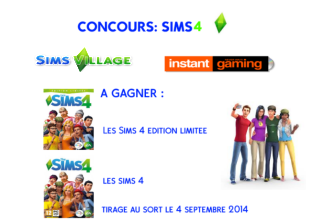 Grand Concours Simsvillage inédit !