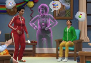 Les choses prennent une tournure terrifiante : des fantômes hantent Les Sims 4
