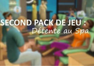 Second Pack de Jeu : Les Sims 4 Détente au spa