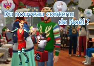 Du nouveau contenu de Noël ?
