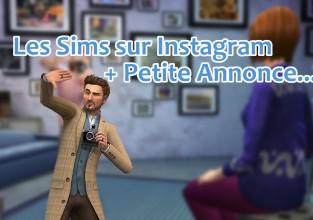 Les Sims sur Instagram + Petite Annonce
