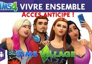 Les Sims 4 Vivre Ensemble: Le Stream de la découverte !