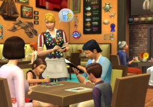 Nouveau kit Les Sims 4 Au restaurant !