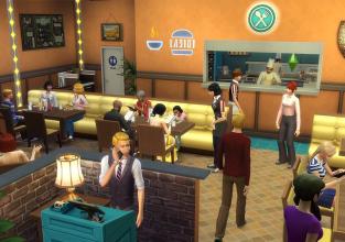 Live Présentation Les Sims 4 au Restaurant à 22h